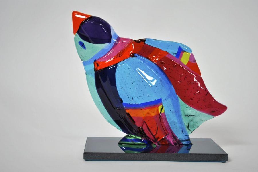 Kunst: Young bird 'up' van kunstenaar Angenelle Thijssen