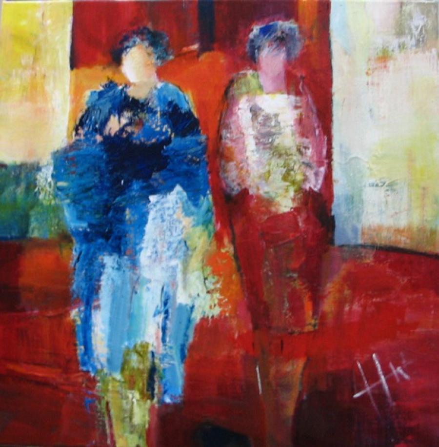 Kunst: Z.T. 2 van kunstenaar Heleen Wilke