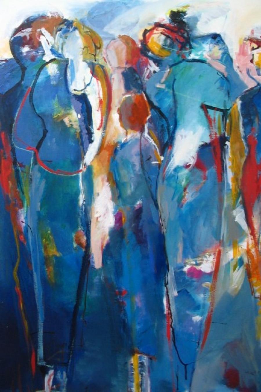 Kunst: Feest van kunstenaar Heleen Wilke
