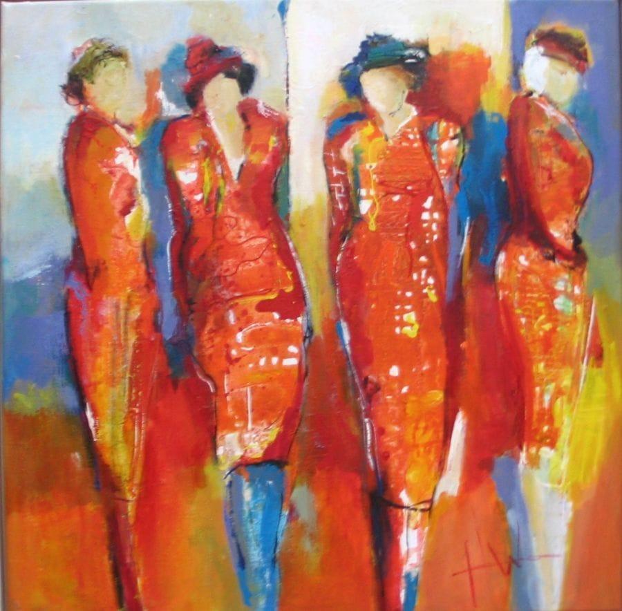 Kunst: z.t. van kunstenaar Heleen Wilke