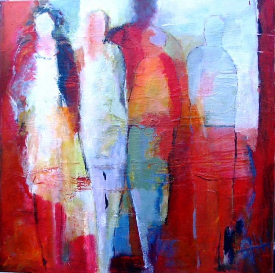 Kunst: z.t. 5 van kunstenaar Heleen Wilke
