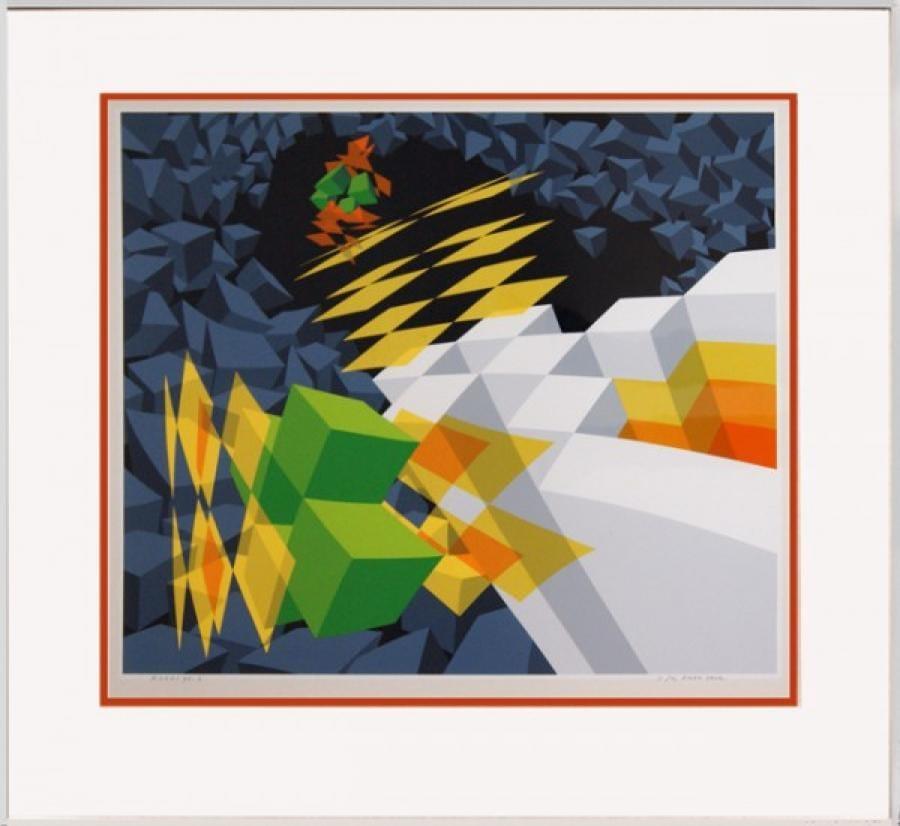 Kunst: Z.T. 98-2 van kunstenaar  Hans Klaui