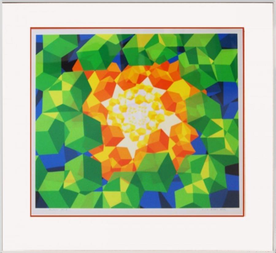 Kunst: Z.T. 98-3 van kunstenaar  Hans Klaui