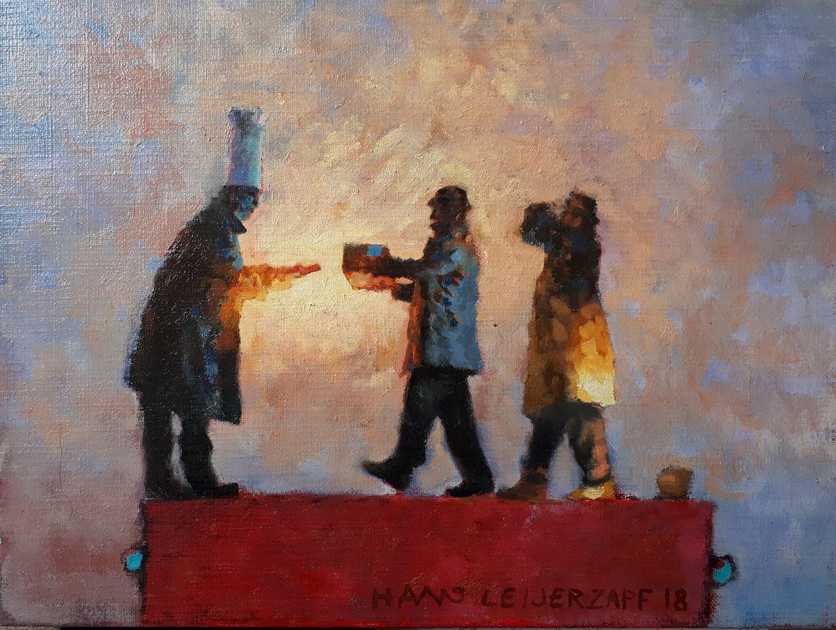 Kunst: Zeven flessen van kunstenaar Hans Leijerzapf