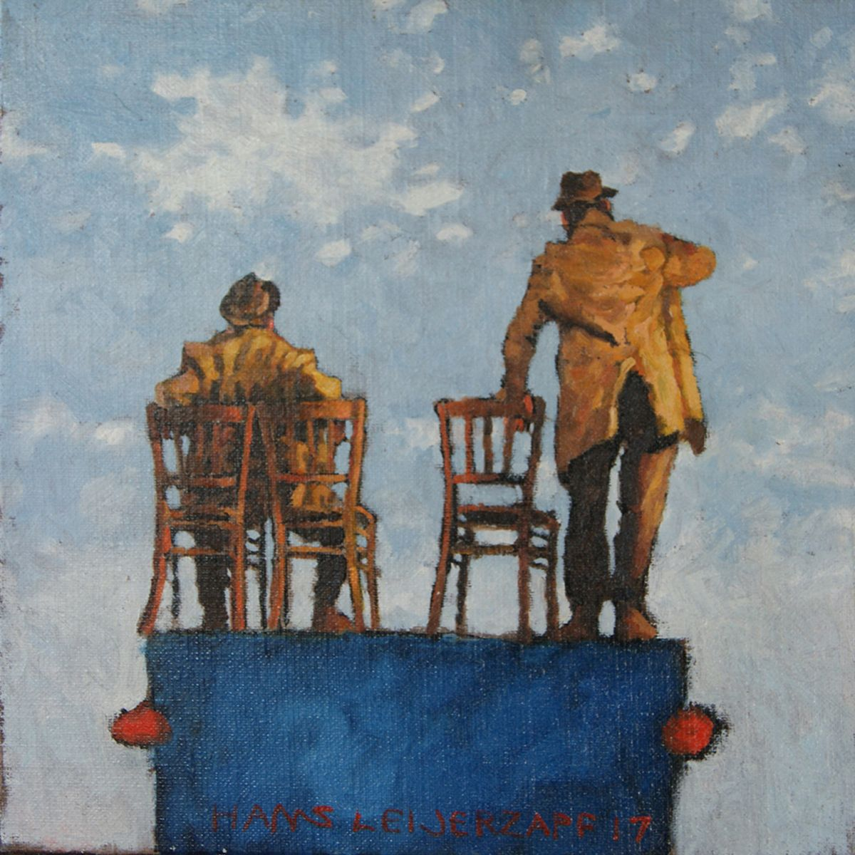Kunst: Zo snel kan het gaan van kunstenaar Hans Leijerzapf