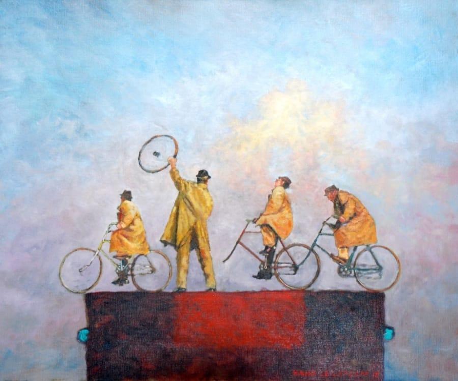 Kunst: Zo ver is het nog niet van kunstenaar Hans Leijerzapf