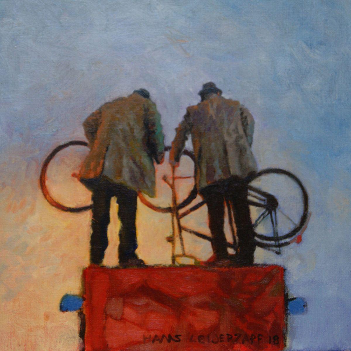 Kunst: Zoals later bleek van kunstenaar Hans Leijerzapf
