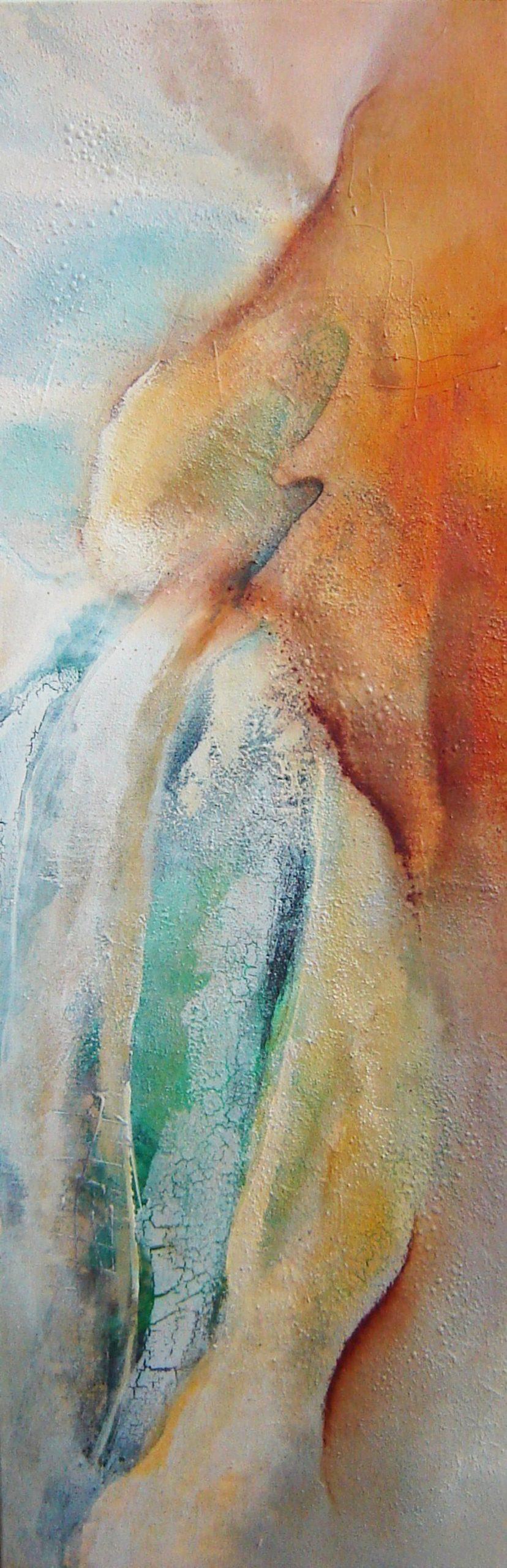 Kunst: Zonder titel 1 (Freij) van kunstenaar Marly Freij(vergezichten)