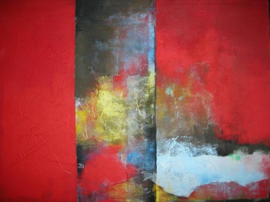 Kunst: zonder titel 10 van kunstenaar Koeno Jansen