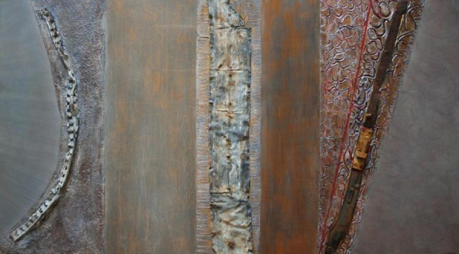 Kunst: Zonder titel van kunstenaar Els Vegter