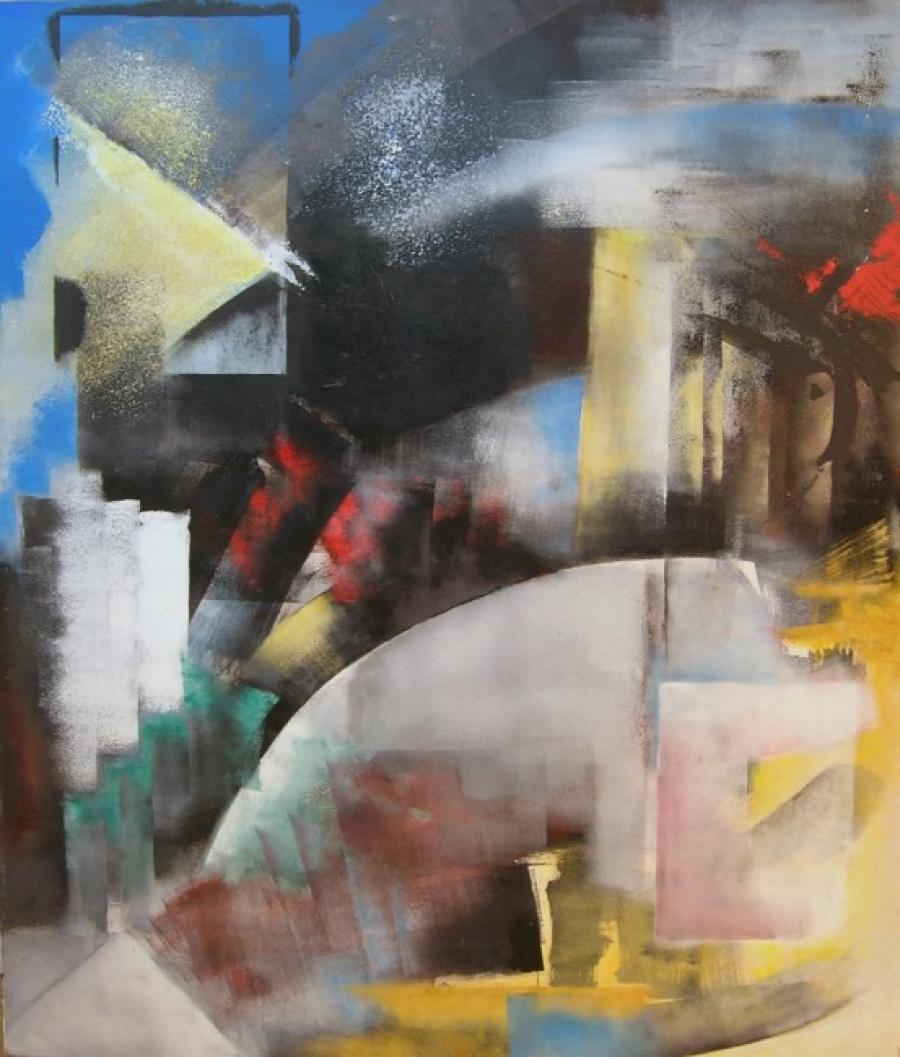 Kunst: zonder titel 14 van kunstenaar Koeno Jansen