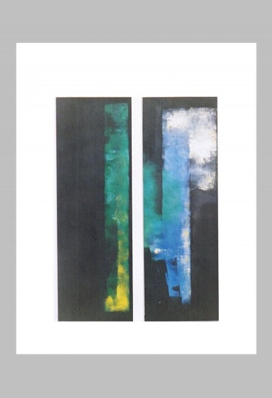 Kunst: zonder titel 16 van kunstenaar Koeno Jansen