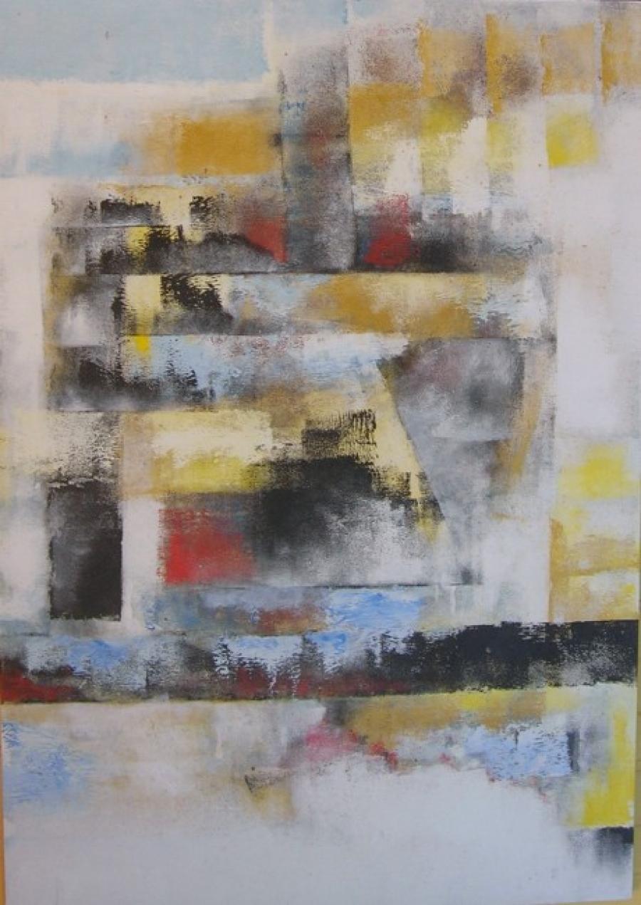 Kunst: zonder titel 18 van kunstenaar Koeno Jansen