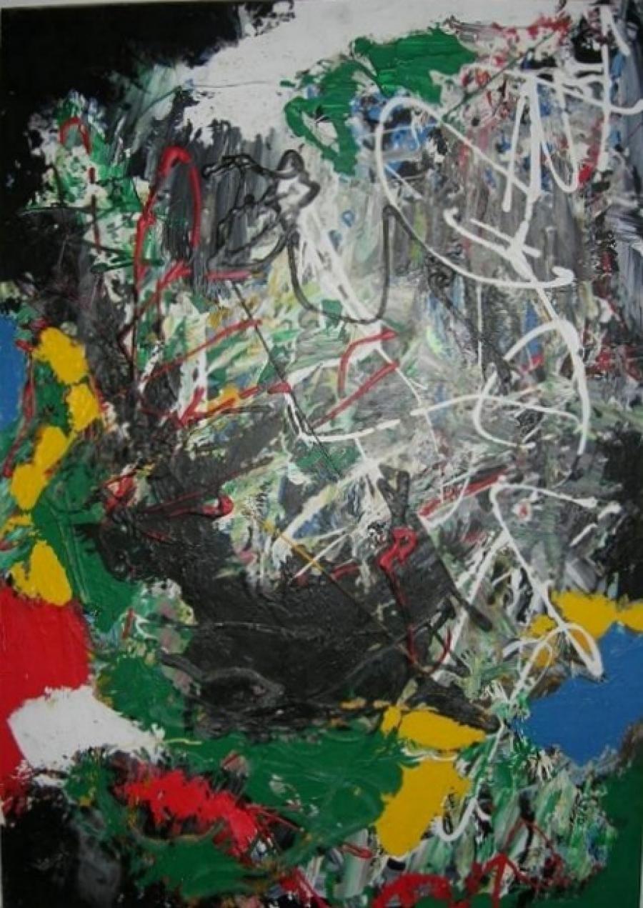 Kunst: zonder titel 2 van kunstenaar Koeno Jansen