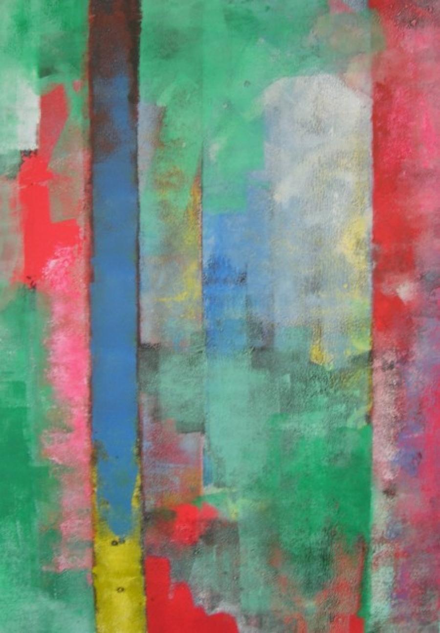 Kunst: zonder titel 20 van kunstenaar Koeno Jansen