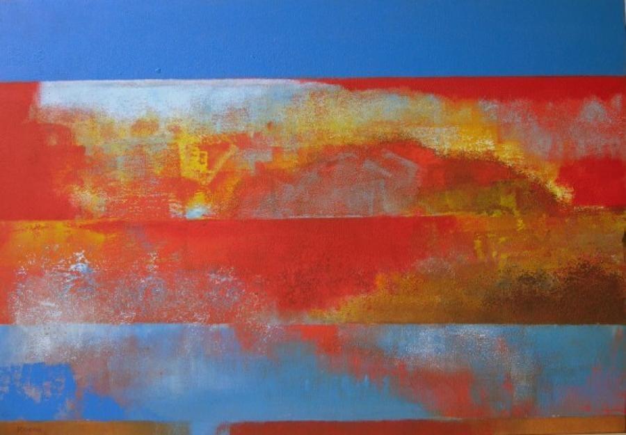 Kunst: zonder titel 24 van kunstenaar Koeno Jansen