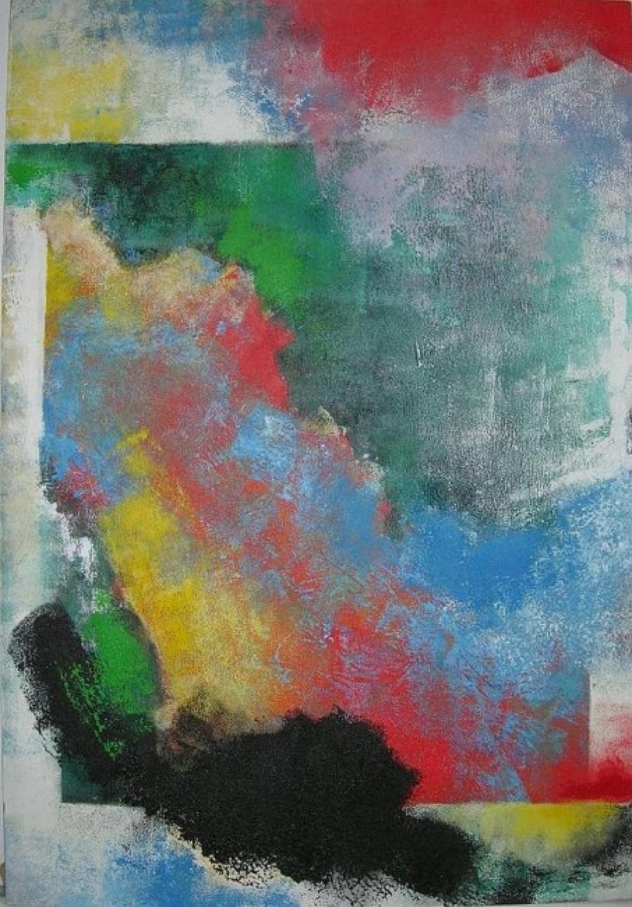 Kunst: zonder titel 3 van kunstenaar Koeno Jansen