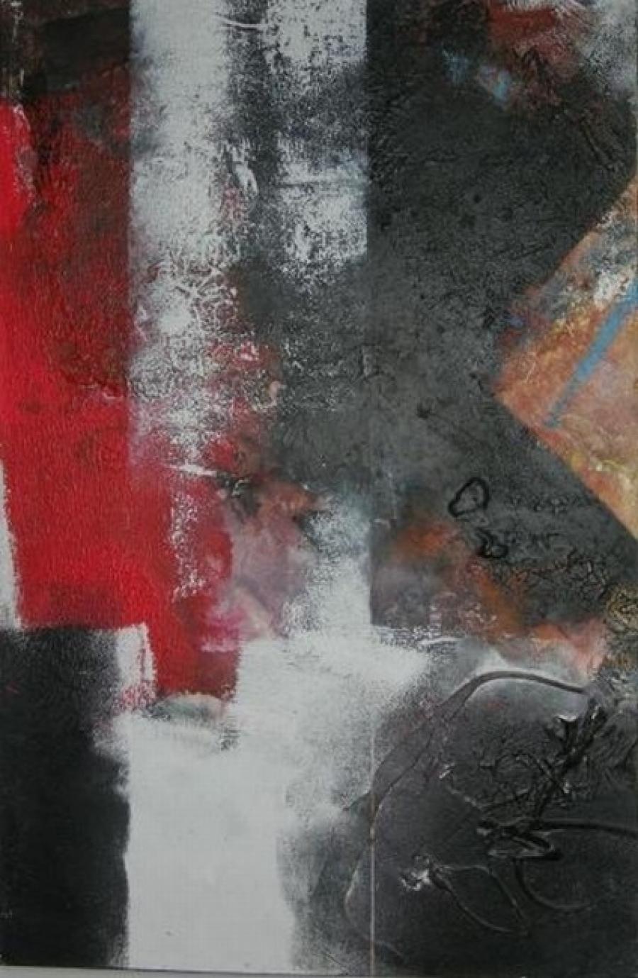 Kunst: zonder titel 5 van kunstenaar Koeno Jansen
