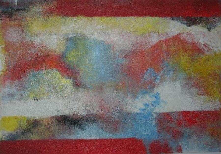 Kunst: zonder titel 7 van kunstenaar Koeno Jansen