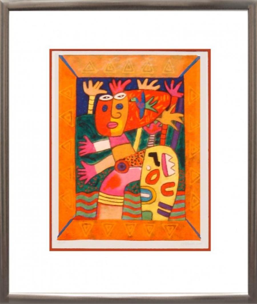 Kunst: Zonder titel III van kunstenaar Clemens Briels