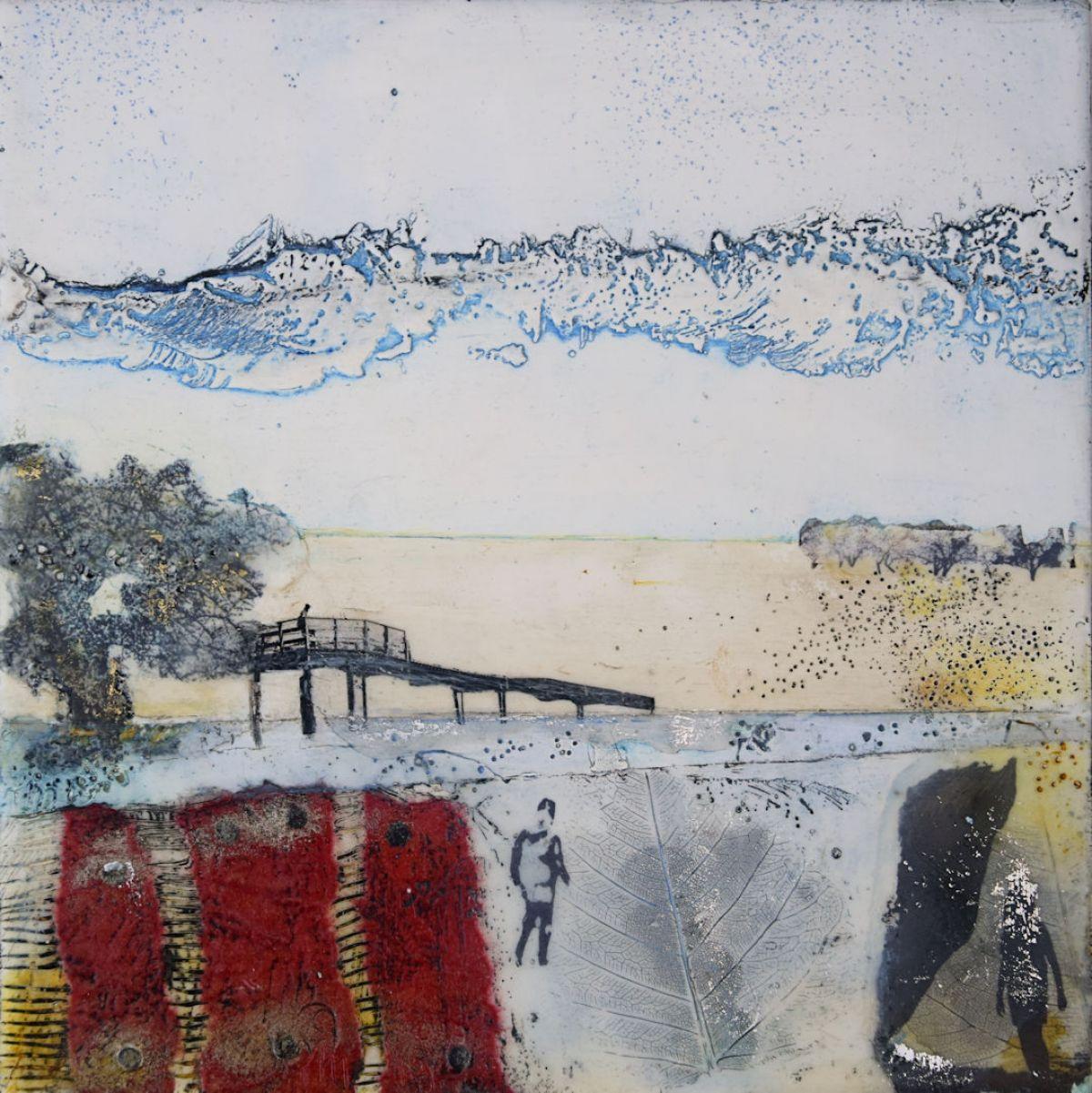 Kunst: Zonder titel nr.13 van kunstenaar Trijnie Mohlmann