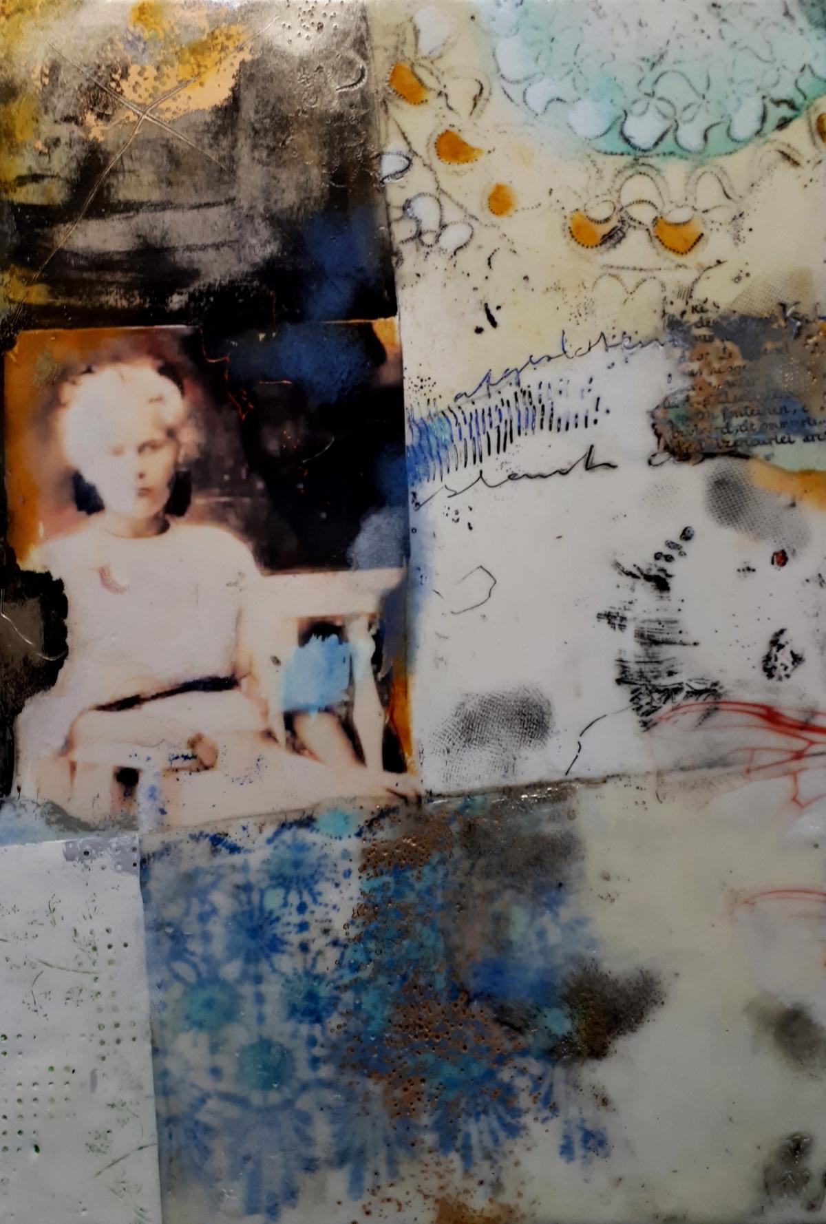 Kunst: zonder titel nr. 15 van kunstenaar Trijnie Mohlmann
