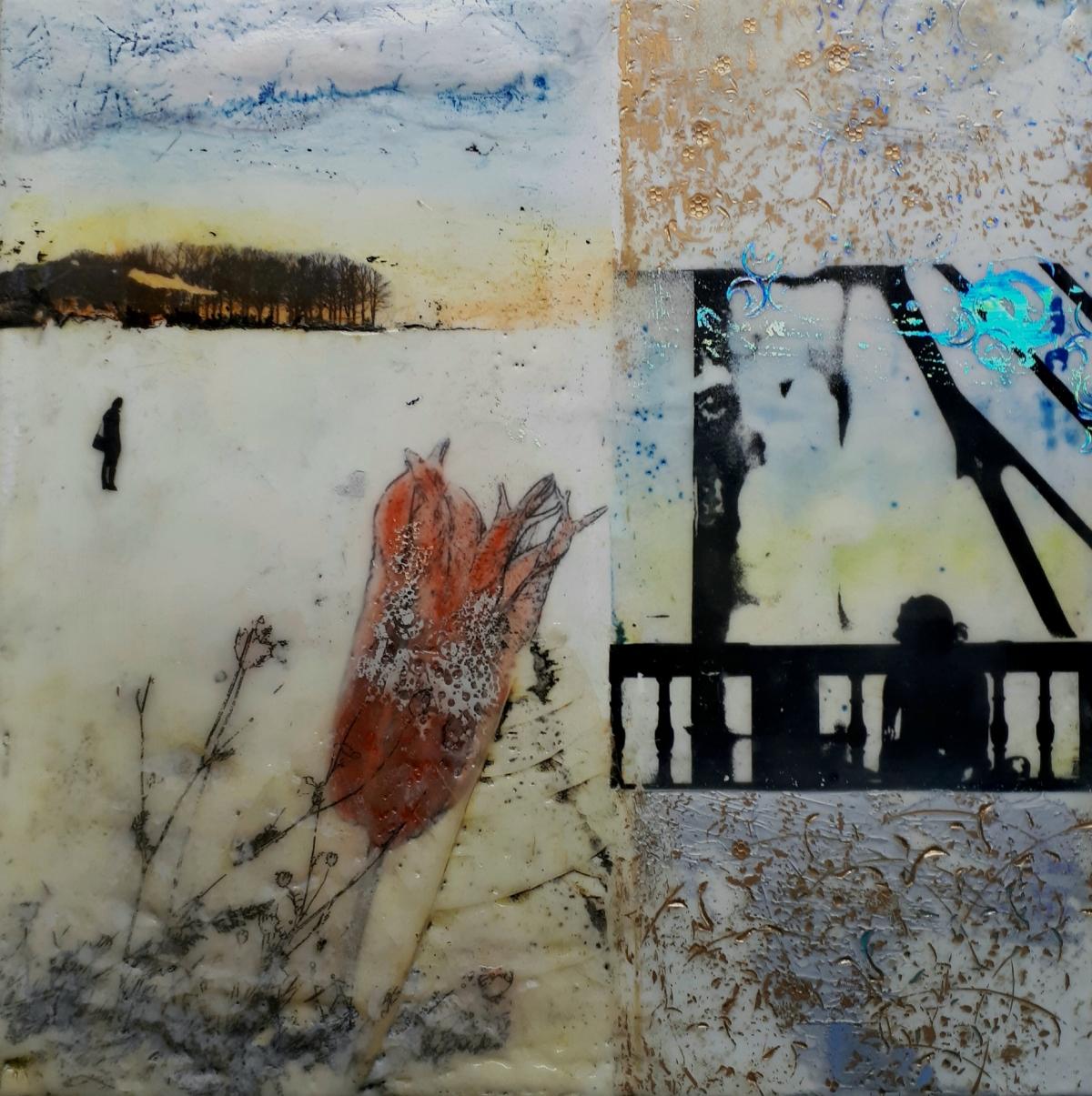 Kunst: Zonder titel nr.17 van kunstenaar Trijnie Mohlmann