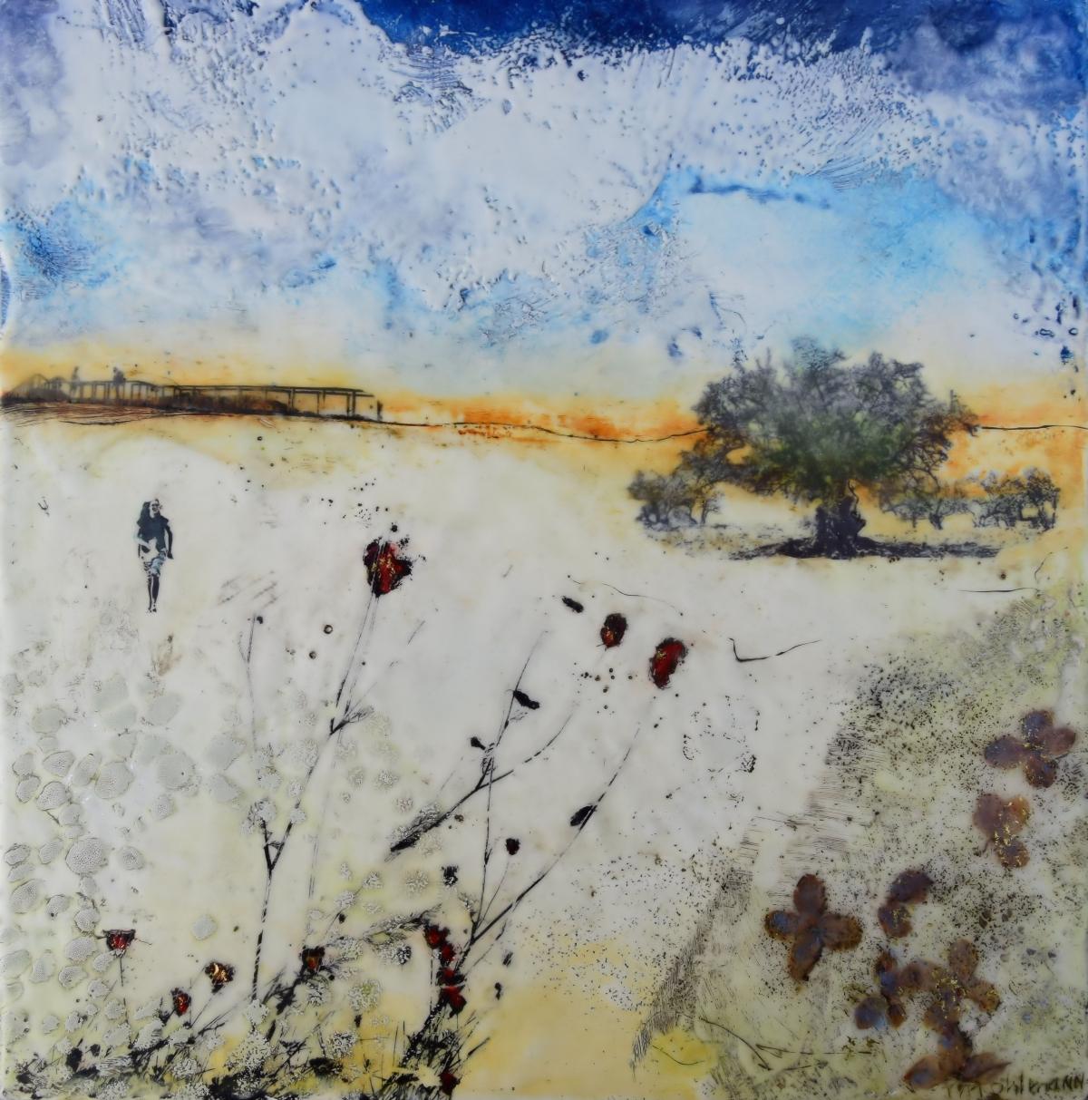 Kunst: Zonder titel nr.18 van kunstenaar Trijnie Mohlmann