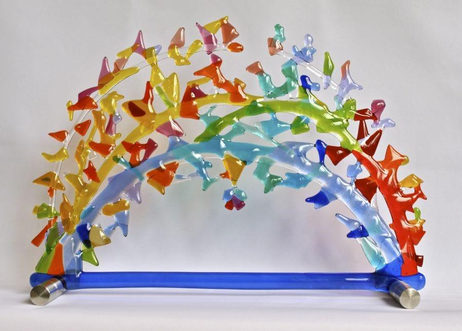 Kunst: Zonnebogen van kunstenaar Angenelle Thijssen