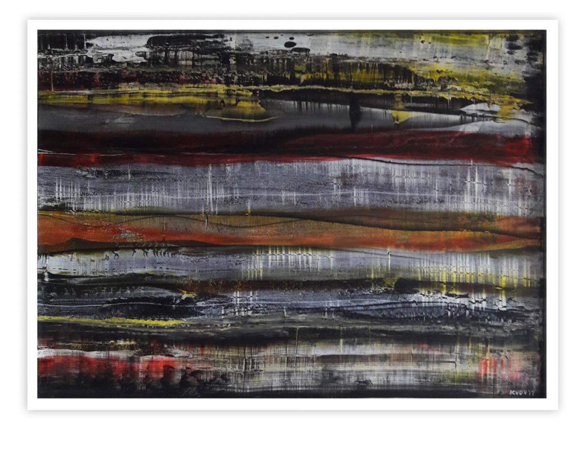 Kunst: ZT-04 van kunstenaar Kees van der Velden