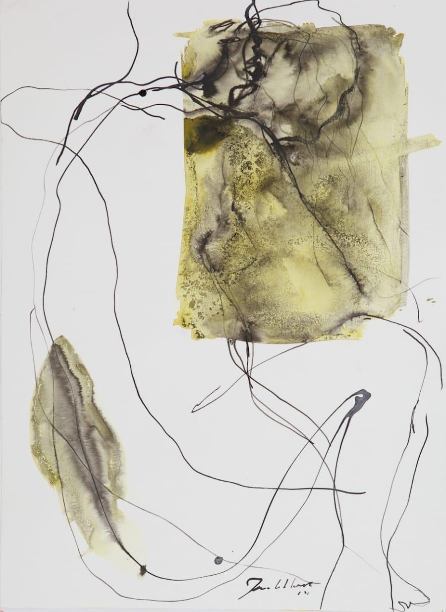 Kunst: Zt. 2 van kunstenaar Jan van Lokhorst