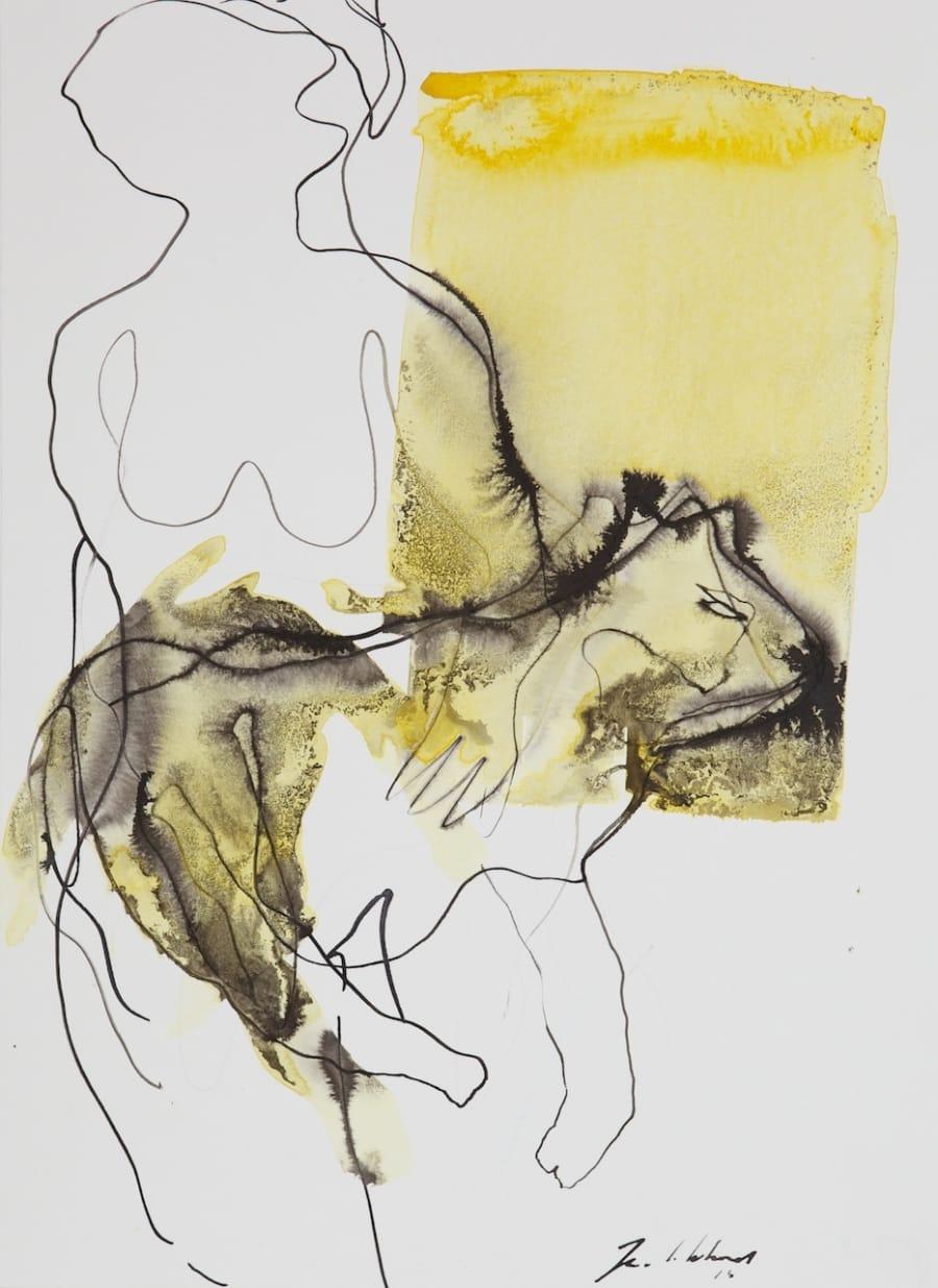 Kunst: Zt. 3 van kunstenaar Jan van Lokhorst