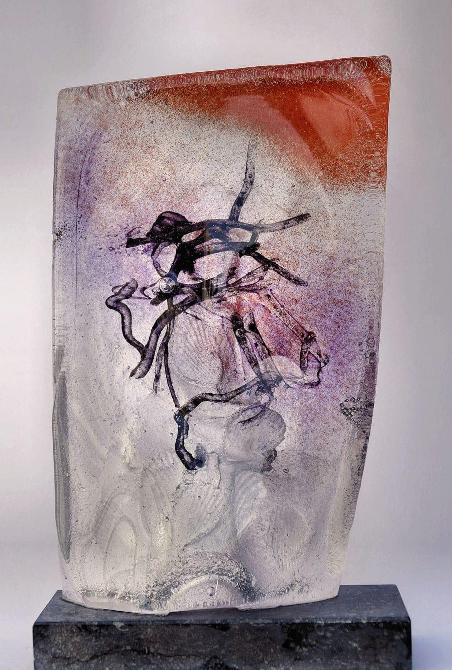 Kunst: ZT IV van kunstenaar Trijnie Mohlmann