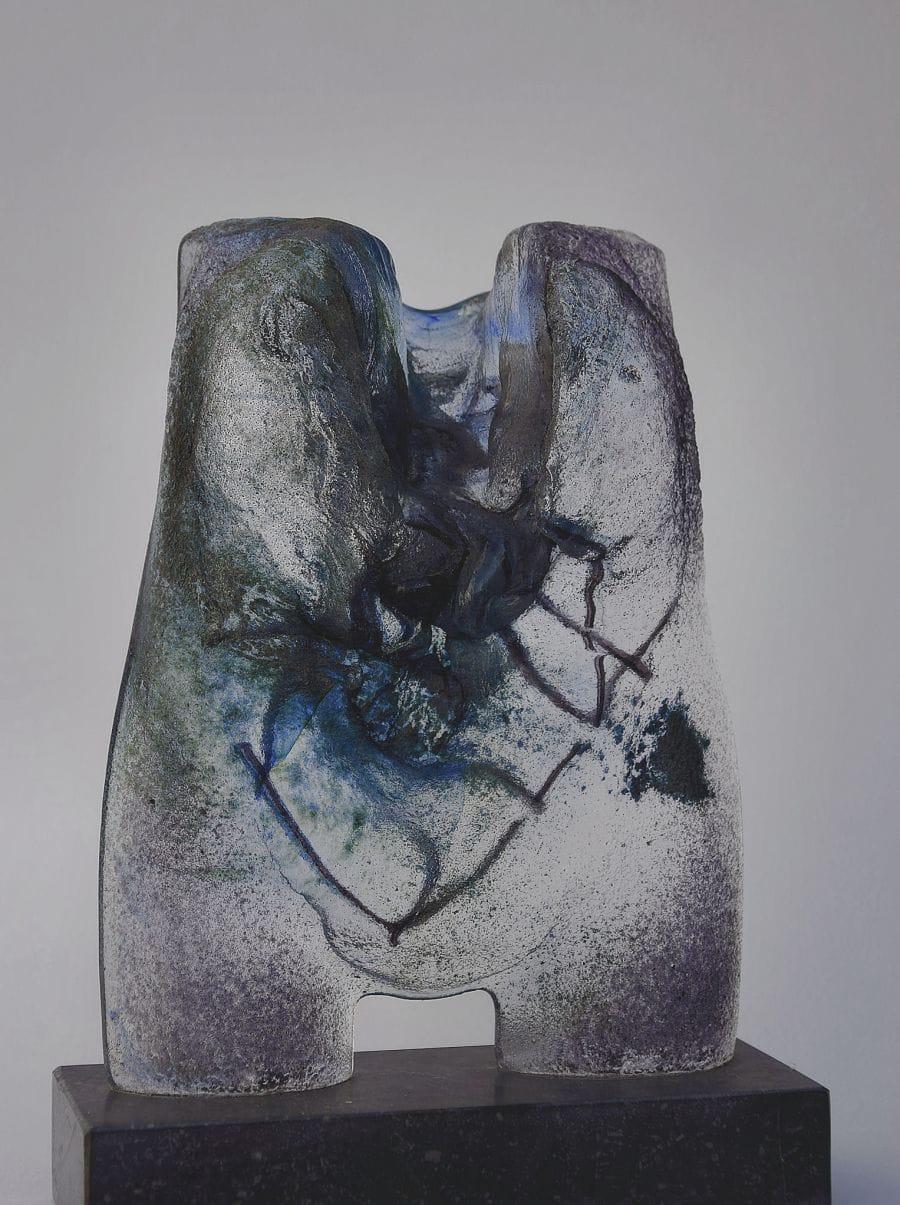 Kunst: ZT nr 12 van kunstenaar Trijnie Mohlmann
