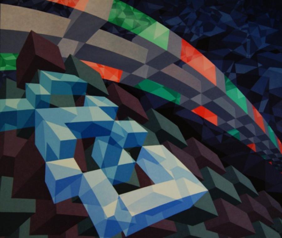 Kunst: ZT1 van kunstenaar  Hans Klaui