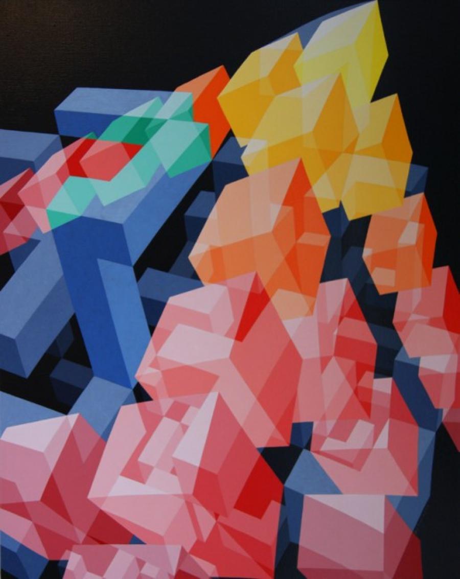 Kunst: ZT11 – 2006 van kunstenaar  Hans Klaui
