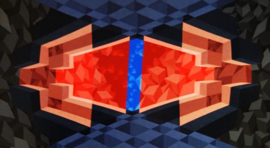 Kunst: ZT2 van kunstenaar  Hans Klaui