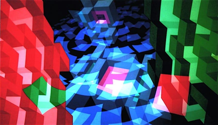 Kunst: ZT3 van kunstenaar  Hans Klaui