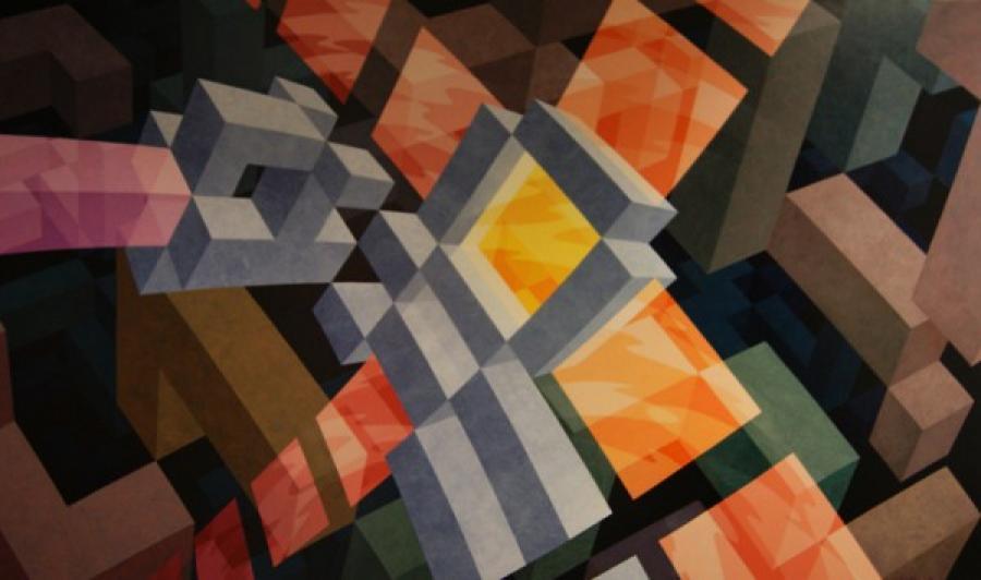 Kunst: ZT4 van kunstenaar  Hans Klaui