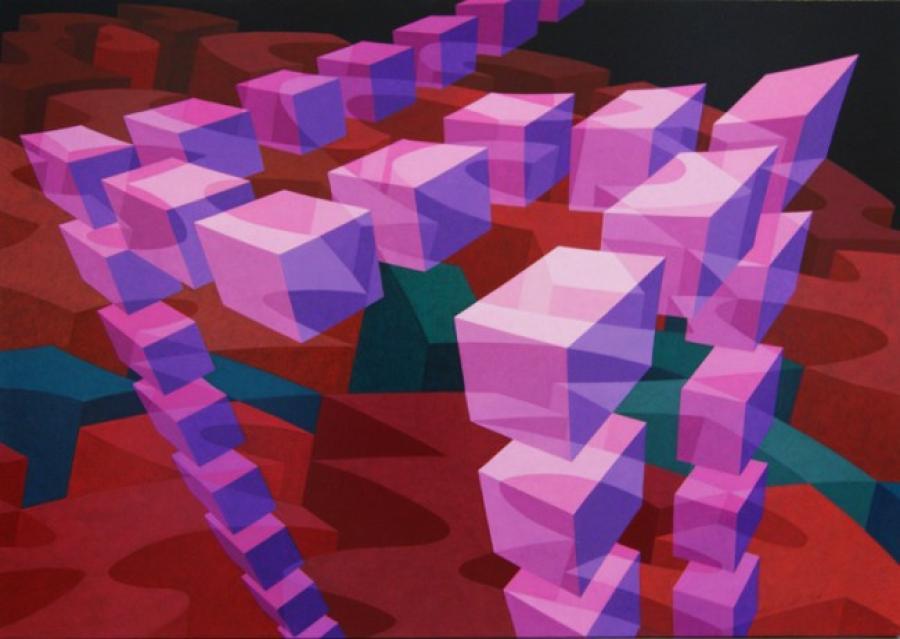 Kunst: ZT7 – 2004 van kunstenaar  Hans Klaui