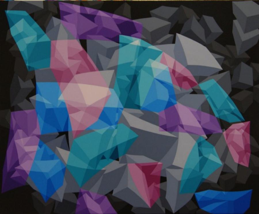 Kunst: ZT8 – 2003 van kunstenaar  Hans Klaui