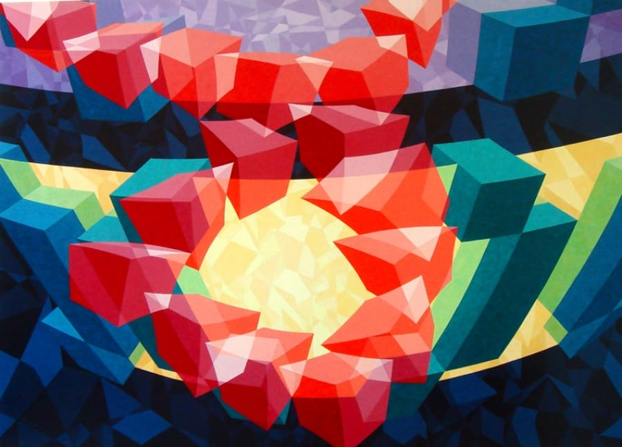 Kunst: ZT9 – 2009 van kunstenaar  Hans Klaui
