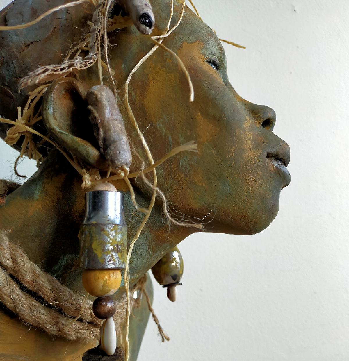 Kunst: Umm – Moeder van kunstenaar Lilian Wessels
