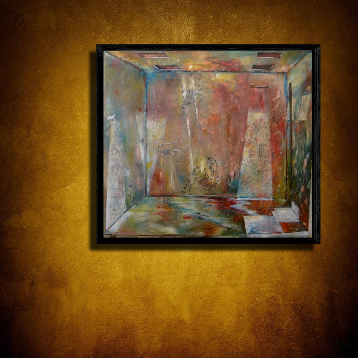 Kunst: M 2011 E van kunstenaar Martin Copier