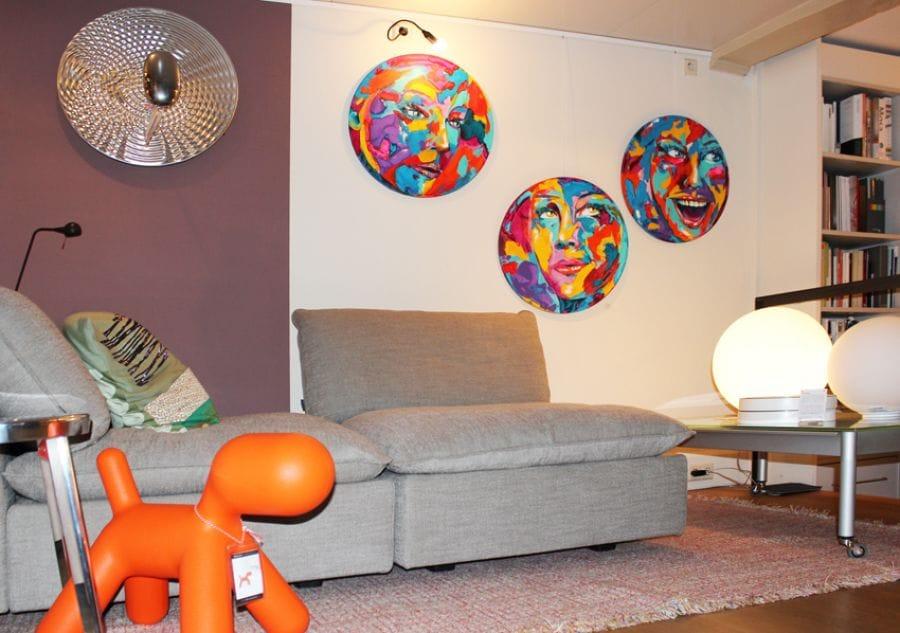 Kunst: So round III van kunstenaar Tamara Sille