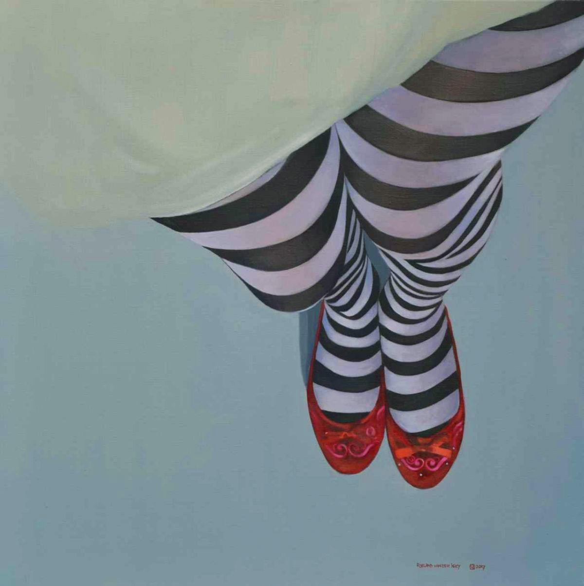 Kunst: Streepjescode van kunstenaar Roeland van der Kley