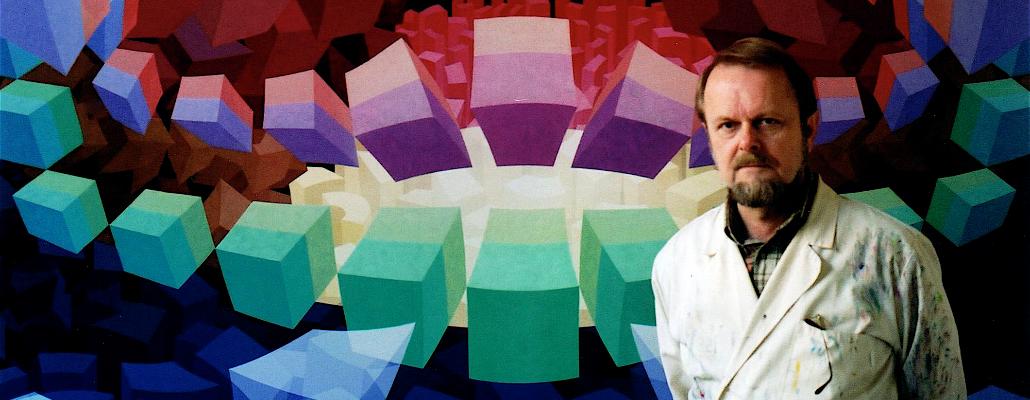 kunstenaar  Hans Klaui