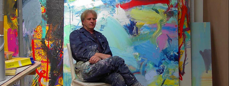 kunstenaar Jan van Lokhorst