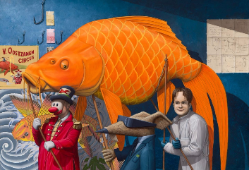 kunstenaar Peter van Oostzanen