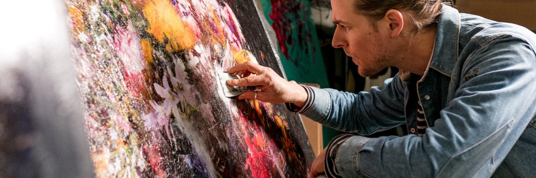 kunstenaar Teis Albers